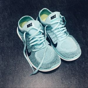 Nike Free 4.0 Flyknit - Turquoise